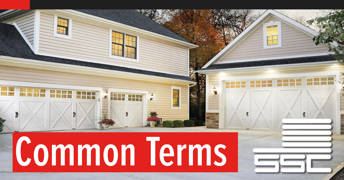 Common Garage Door Industry Terms to know in the Field for Dealers and Installers