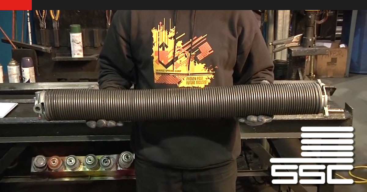 How to Cut & Cone A Torsion Spring