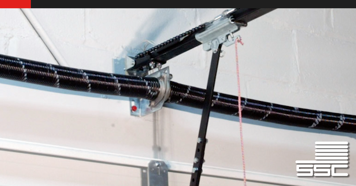 The counterbalance assembly of a garage door does the heavy lifting. Learn how springs, drums, cables and cones, shaft, center and end bearing plates work together to a lift a garage door.