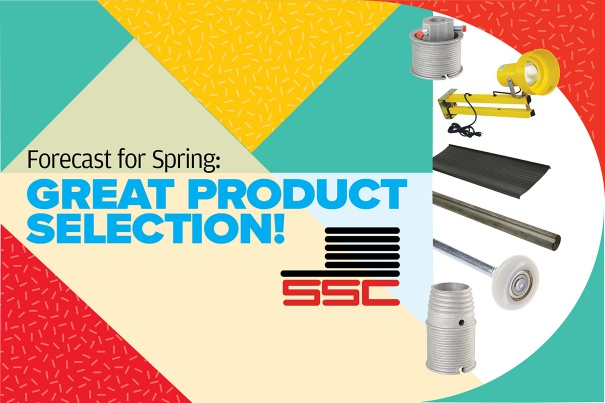 Forecast for Spring - Great Product Selection