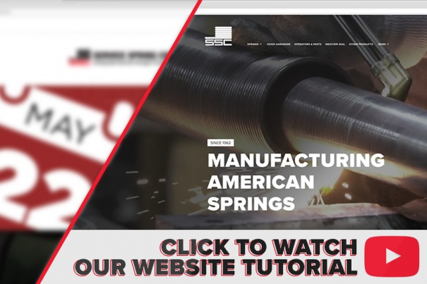 Click here to watch a quick tutorial of our brand new website