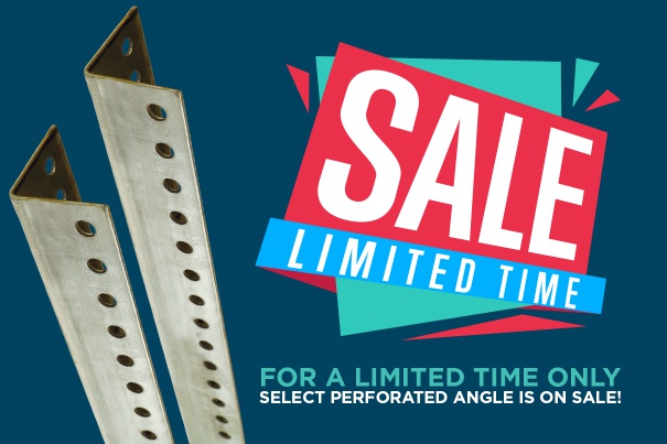 Perforated Angle Sale