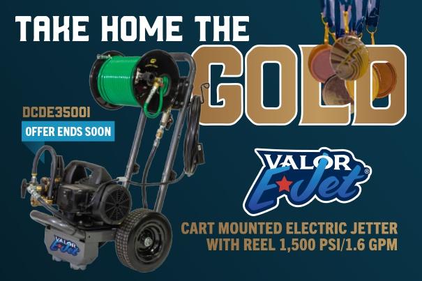 Take Home The Gold - DCD Valor E-Jet